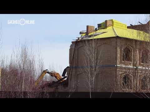 В Казани сносят университет «Махариши»