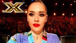 Юлия Санина сняла видео об Х-факторе для своего влога