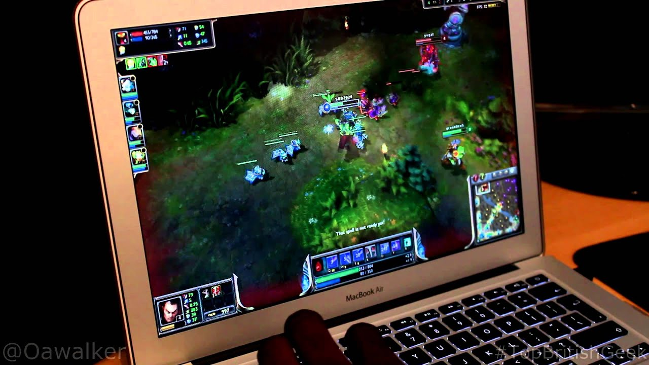 League Of Legends On Macbook Air 13  2013  Haswell    YouTube League Of Legends On Macbook Air 13  2013  Haswell