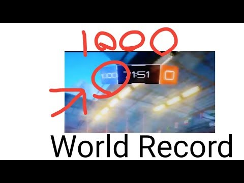 Rocket league Most Goals Ever Scored In a Match (World Record)