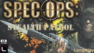 PS1 - Spec Ops: Stealth Patrol - LongPlay [4K:60Fps]