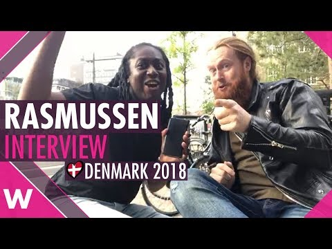 Rasmussen (Denmark 2018) talks life post Eurovision in Copenhagen | INTERVIEW