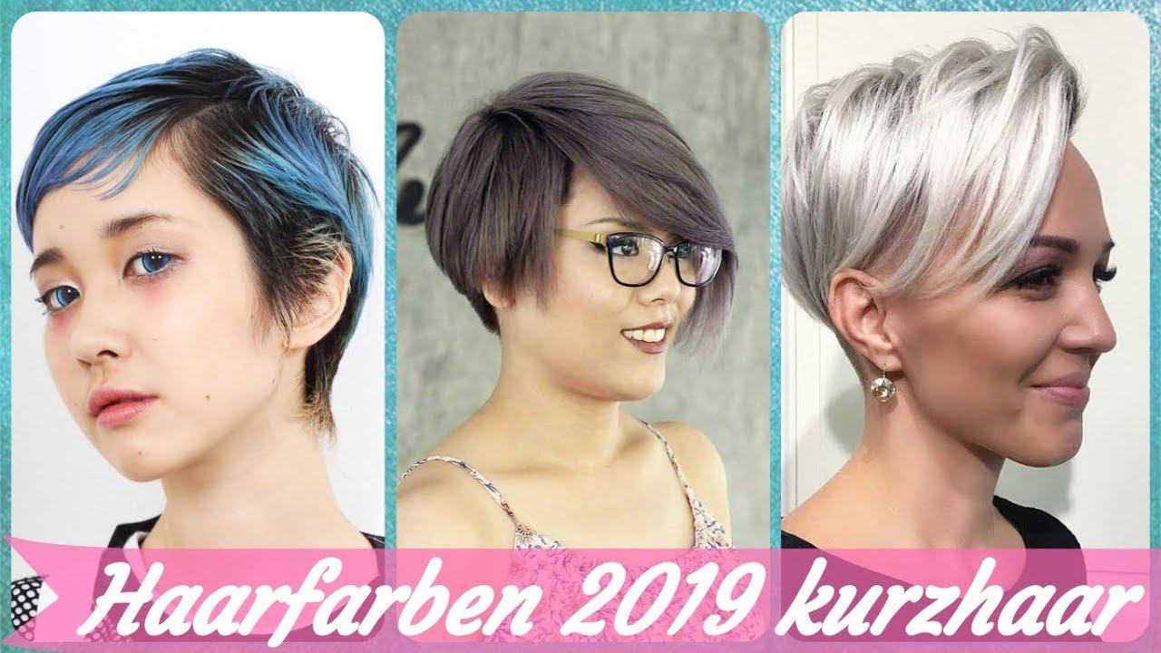 Die Moderne 20 Ideen Zu Haarfarben 2019 Kurzhaar
