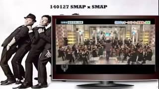 SMAPxSMAP 140127 - Guest Stars Nishimoto Tomomi, Kataoka Ainosuke /...