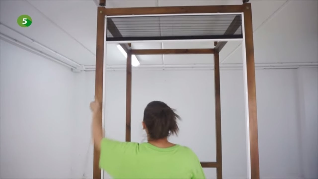 Ventanas Pvc Bauhaus.Como Instalar Una Mosquitera Plisada Para Ventanas Leroy Merlin