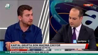 RB Leipzig-Beşiktaş Taner Karaman Uğur Karakullukçu Yorumları Spor Ajansı 6 Aralık 2017