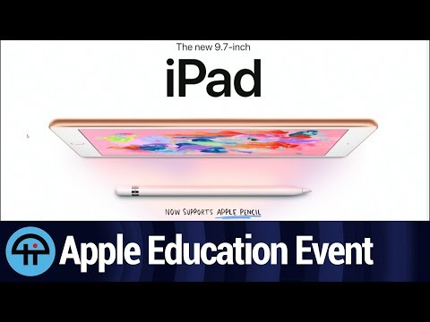 Apple Education Event Hardware Announcements