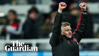 'I don't want to leave': Solskjær jubilant after Man Utd win at Newcastle