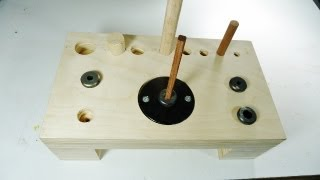 Repeat youtube video Making a dowel station