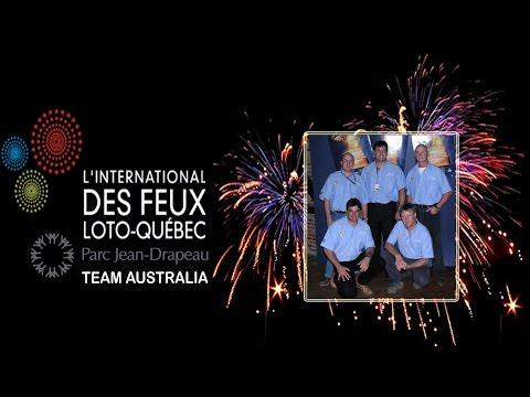 L'INTERNATIONAL DES FEUX LOTO QUÉBEC LA RONDE CANADA AUSTRALIA ROMEO & JULIET FULL DISPLAY