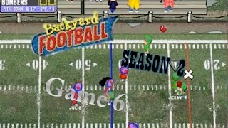 Backyard Football 1999 (PC) (SEASON 2) Game 6: Slick Moves Bro
