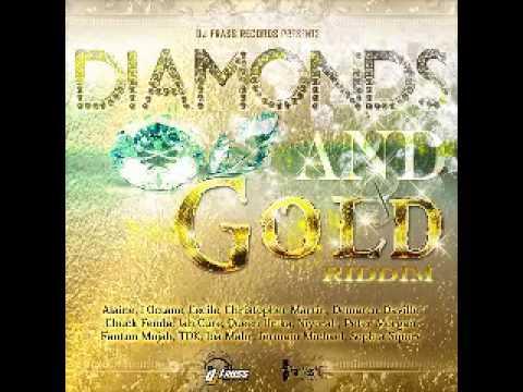 diamonds and gold riddim mix dj wadey