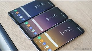 видео Номера моделей Samsung Galaxy S8 и Galaxy S8 Plus