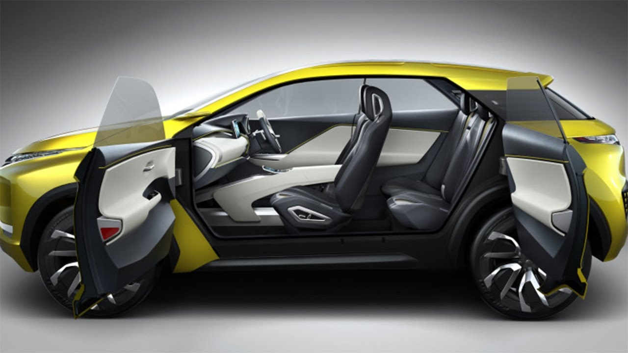 Hot News Mitsubishi Ex Concept A Brand New Cuv Will Launch In Early