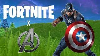 FORTNITE x AVENGERS RETURNS (Captain America LTM)