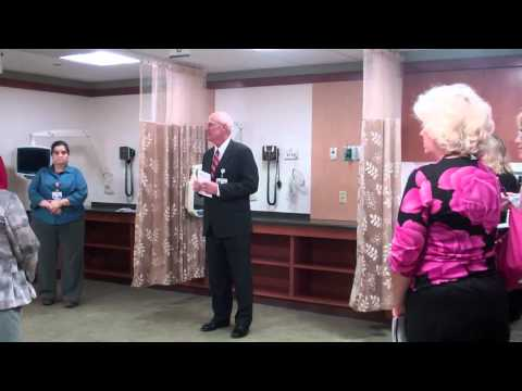 David Lundquist Speaks At Benedictine Hospital Infusion Center Open House