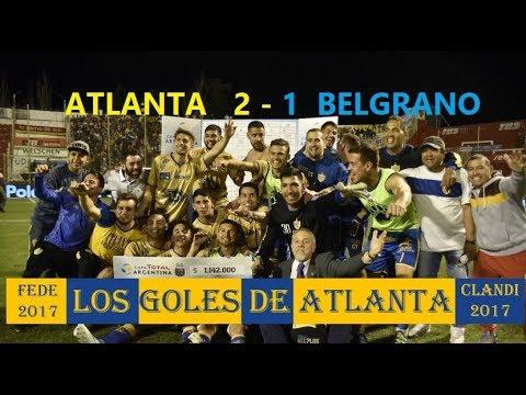 Atlanta 2-1 Belgrano - Copa Argentina 2017 - 8Avos De Final