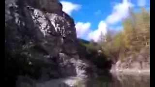 Прыжок в воду карьер Мишоко.