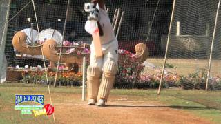 Cricket Practice:Playing Inswing