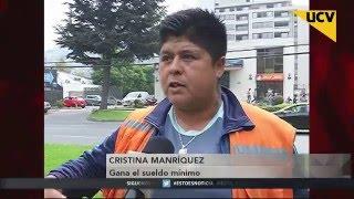UCV TV NOTICIAS CENTRAL (01-04-2016) - Alejandro Goic propone sueldo ético de $400 mil