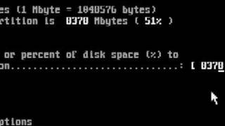 fdisk DOS Partition Tutorial