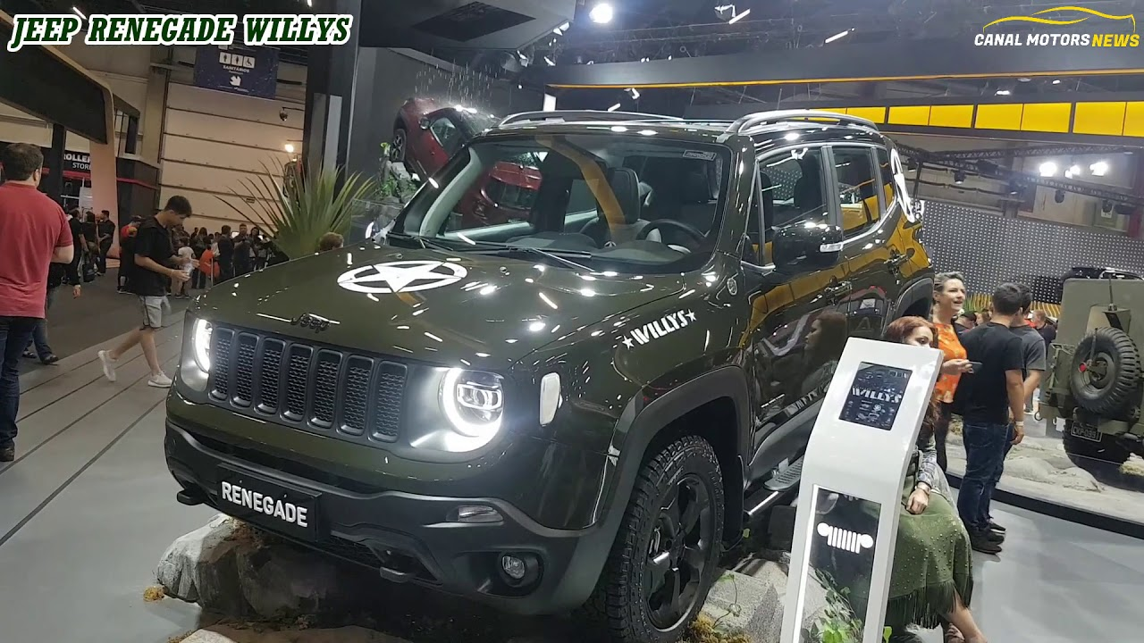 Jeep Renegade 2019 Willys Edicao Limitada Salao 2018 Youtube