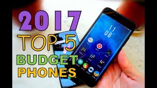 2017 Budget Phones Top 5 with Best Value