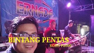 BINTANG PENTAS Karaoke lirik Cover KORG Pa600