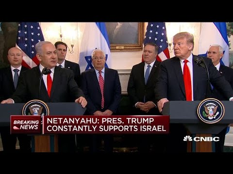 Israel PM Netanyahu: President Trump Constantly Supports Israel