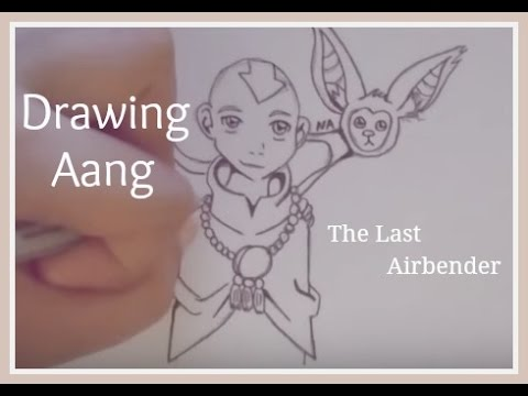 Drawing Aang Avatar: The Last Airbender YouTube