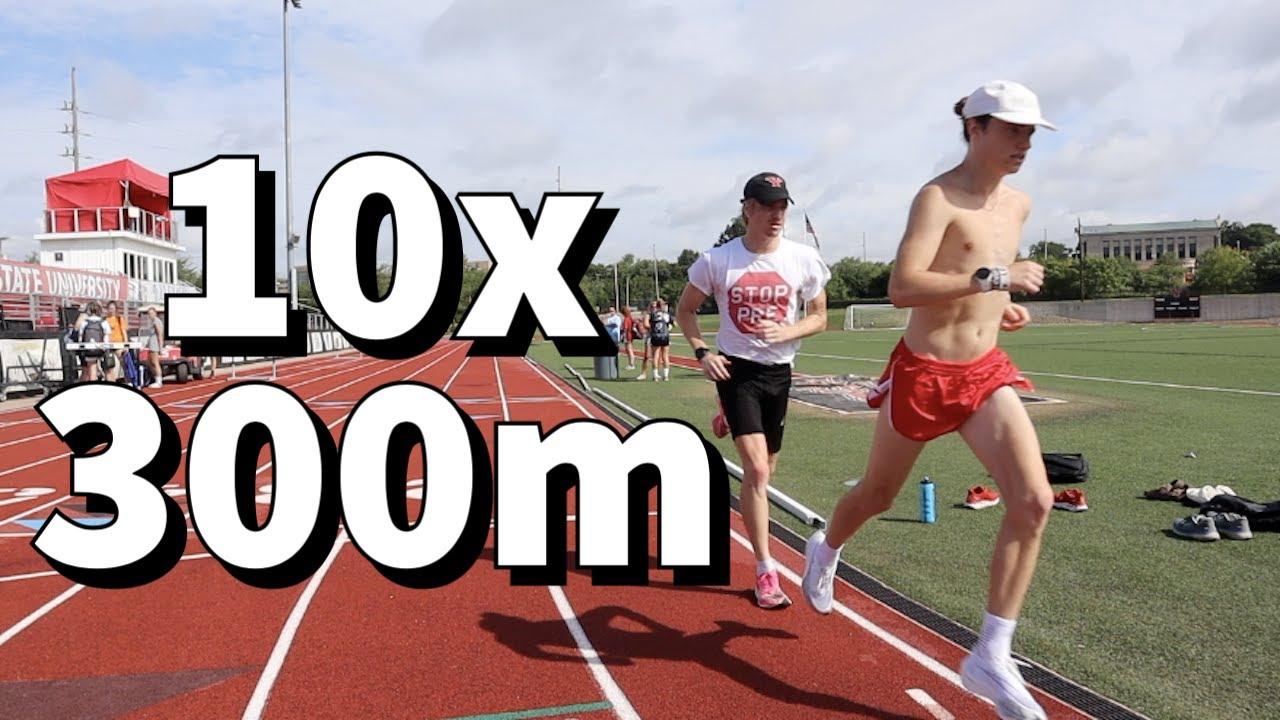 10x 300m w/ 1:30 Rest! / Summer Track Workout!