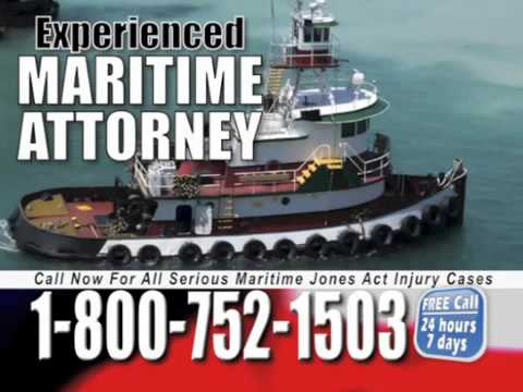 Bridgeport Maritime Lawyer   1 800 752 1503   Jones Act Attorney Bridgeport Connecticut