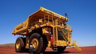 Inside A Giant Dump Truck