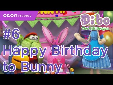 [Dibo the gift dragon] #06 Happy Birthday to Bunny(ENG DUB)ㅣOCON