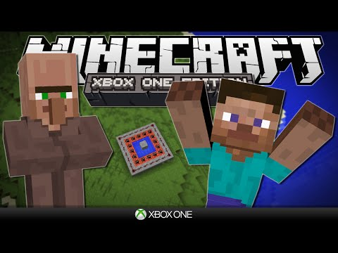 VILLAGER & PLAYER TNT CANNON! | Minecraft Xbox: The One Competition