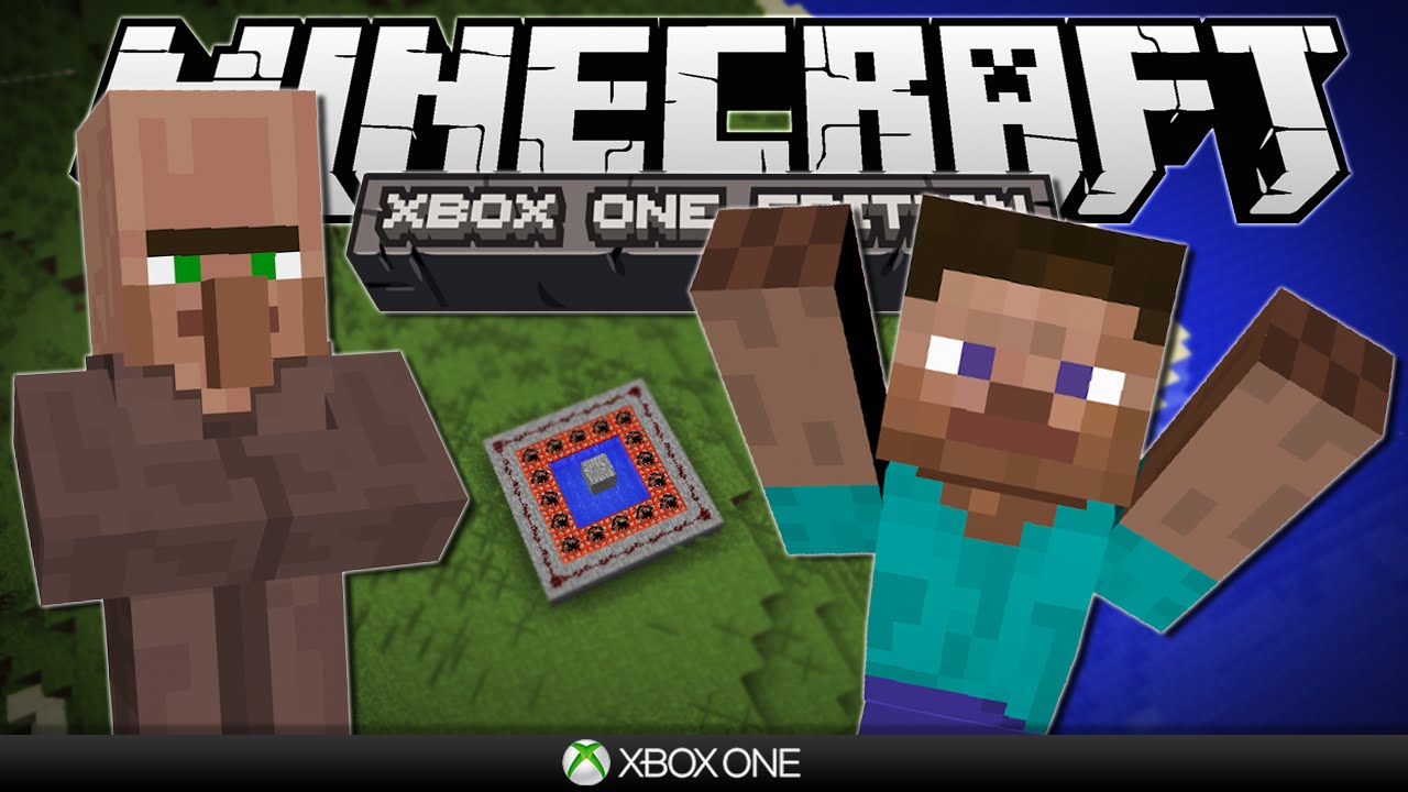 Villager Player Tnt Cannon Minecraft Xbox The One Competition Youtube