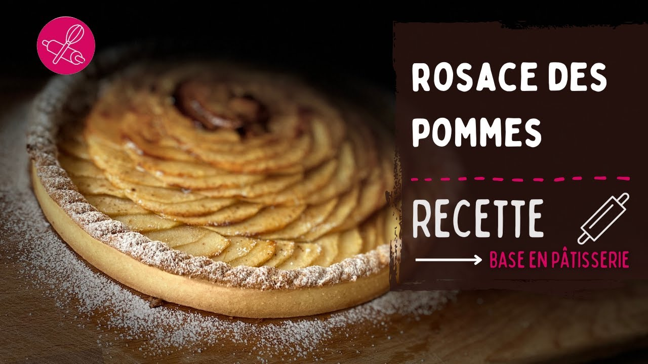 Réaliser une rosace sur une tarte aux pommes : la technique en pas à pas