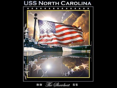 Sleeping Giant - Battleship USS North Carolina (BB-55)