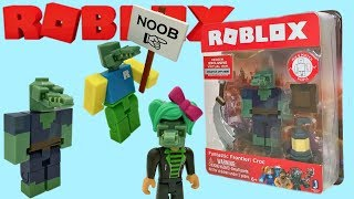 Roblox Toy Fantastic Frontier Croc, Series 4, Code Item, Unboxing & Toy Review Crocodile, Alligator
