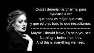 Take it all - Adele (sub. español-ingles)