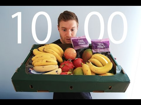 Attempting Jon Venus's | 10000 Calorie Fruit Challenge