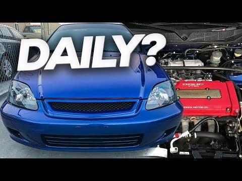 "Project Daily [Ep.6] ""1999 Honda Civic Si Daily"""