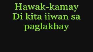 Repeat youtube video Hawak Kamay By: Yeng Constantino (w/ lyrics)