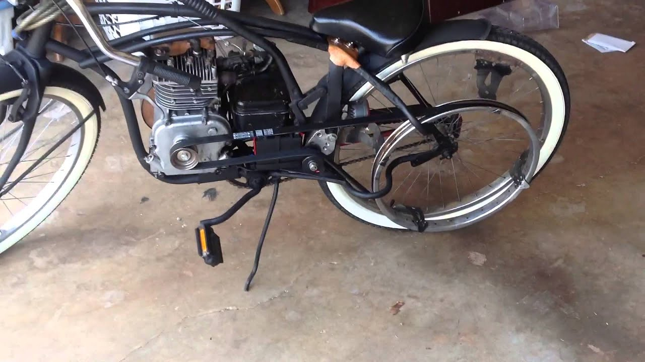 Board Track Racer Motorized Bicycle 5 Hp Flathead Briggs And Stratton