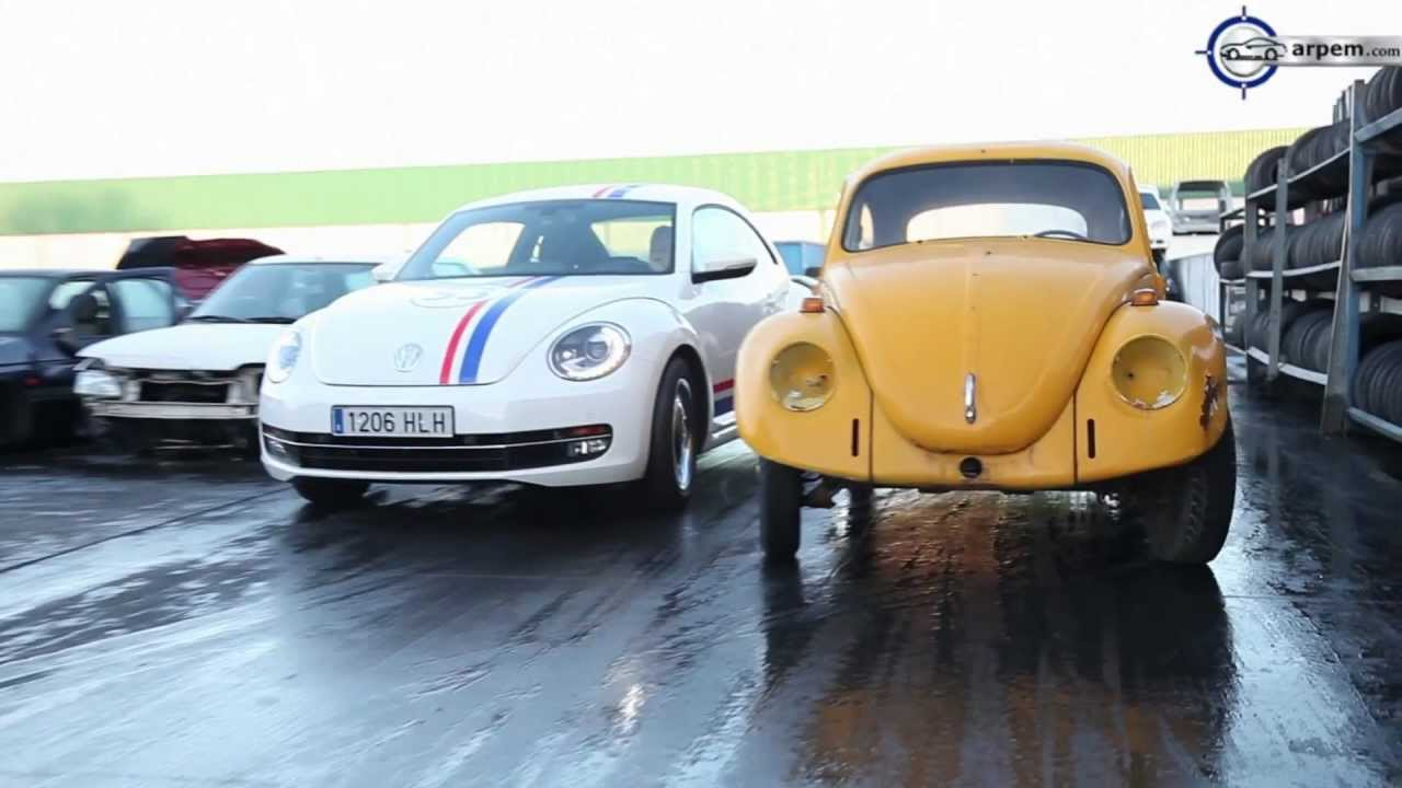 Presentación Volkswagen Beetle 53 Edition Herbie - Arpem, EU, 2013 - YouTube