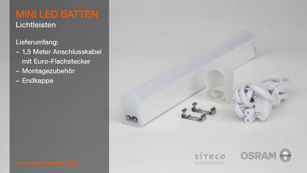 OSRAM MINI LED BATTEN: Die universelle, kostengünstige LED ...