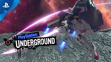 Gundam Versus - PS4 Gameplay | PlayStation Underground