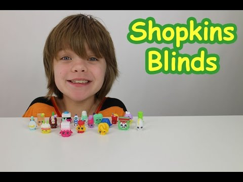 Shopkins 12 pack and Blinds - Day 572 | ActOutGames