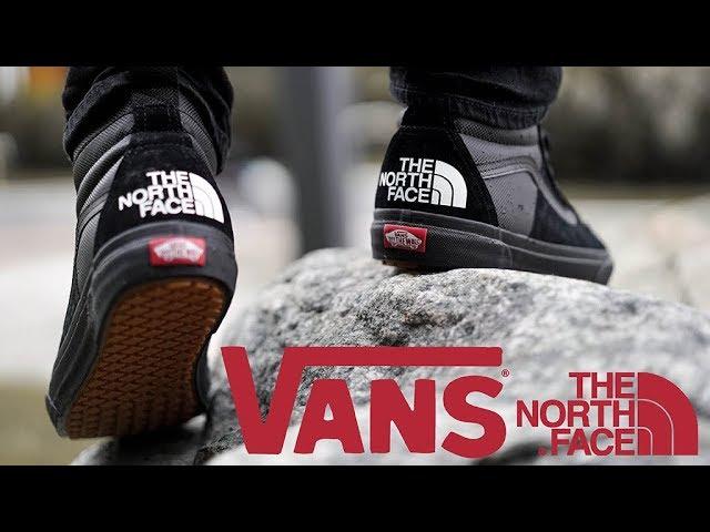 north face x vans