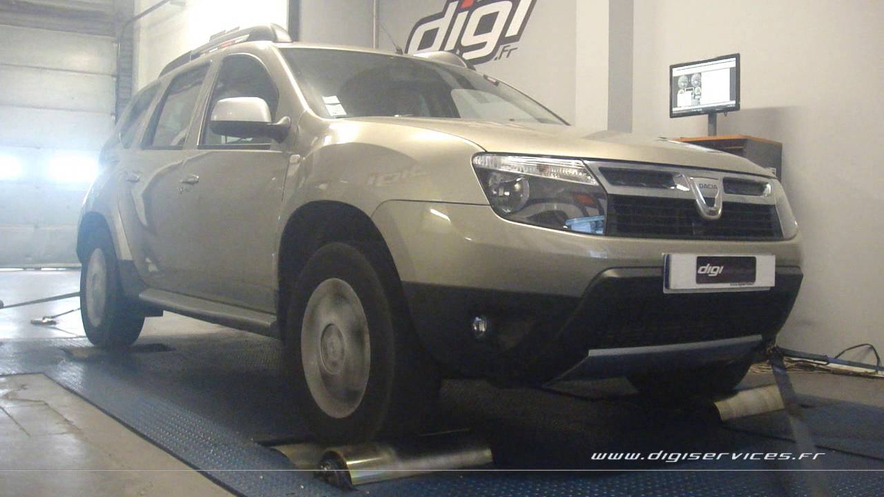 dacia duster 1 5 dci 110cv reprogrammation moteur 129cv digiservices paris 77 dyno youtube. Black Bedroom Furniture Sets. Home Design Ideas